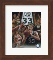 Framed Larry Bird - Legends Of The Game Composite