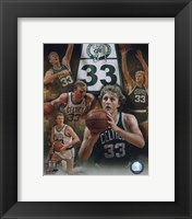 Framed Larry Bird - Legends Of The Game Composite