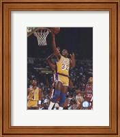 Framed Magic Johnson