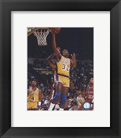 Framed Magic Johnson