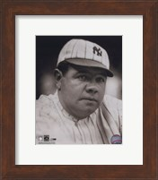 Framed Babe Ruth - classic portrait