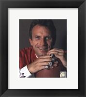 Framed Joe Montana -4 Super Bowl Rings