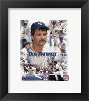 Framed Don Mattingly - Legends of the Game Composite
