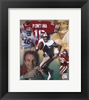 Framed Joe Montana - Legends of the Game Composite