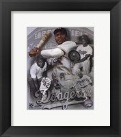 Framed Jackie Robinson Legends Composite