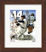 Framed Reggie Jackson Legends Composite