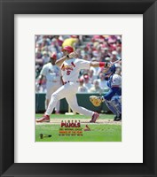 Framed Albert Pujols 2001 National League Rookie of the Year