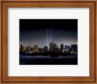 Framed Towers of Light (NYC) - September 11 Tribute