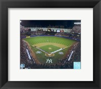 Framed Yankee Staduim - 2000 World Series