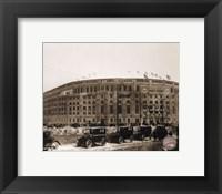 Framed Yankee Stadium  (outside)