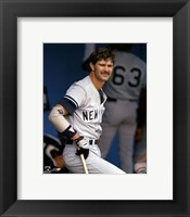 Framed Don Mattingly - In Dugout