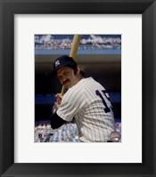 Framed Thurman Munson - Posed Batting
