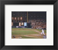 Framed Cal Ripken Jr. 2131 Game #6