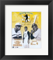 Framed Roberto Clemente 30th Anniversary Composite