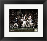 Framed Johnny Unitas