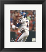 Framed John Elway - Old Uniform