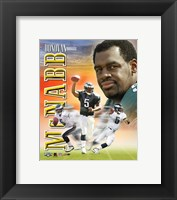 Framed Donovan McNabb Portrait Plus
