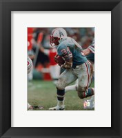 Framed Earl Campbell - Running with ball
