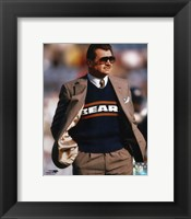 Framed Mike Ditka - Coach