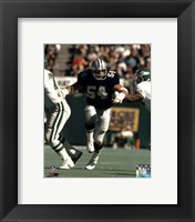 Framed Randy White - Breaking through line