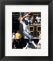 Framed Jay Novacek - Catching ball