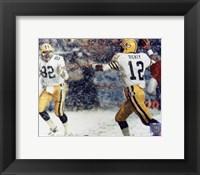 Framed Lynn Dickey - Snow shot