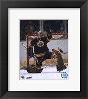 Framed Gerry Cheevers - Save