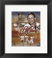 Framed Stan Musial - Legends Composite