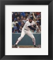 Framed Wade Boggs - (Red Sox) - Batting
