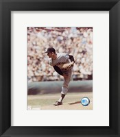 Framed Gaylord Perry - Giants - Pitching