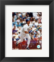 Framed Robin Yount - Looking up