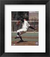 Framed Juan Marichal - Ready to pitch