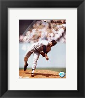 Framed Juan Marichal - Pitching