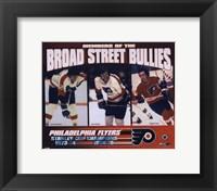 Framed Gary Dornhoefer / Dave Schultz / Reggie Leach - Broad Street Bullies