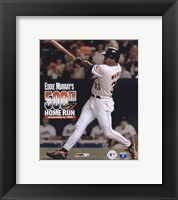 Framed Eddie Murray - 500th Home Run