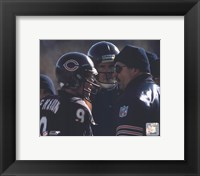 Framed Jim McMahon / Mike Ditka
