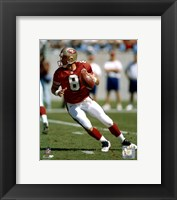 Framed SteveYoung - Dropping back