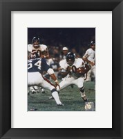Framed Gale Sayers - Action with ball