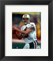 Framed Dan Marino - Close up, action