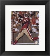 Framed Jerry Rice - Over the shoulder catch - 49ers