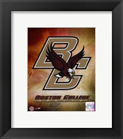 Framed Boston College Logo