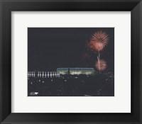 Framed Veterans Stadium - Nightshot, with fireworks