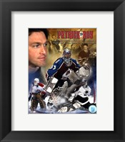 "Framed Patrick Roy - ""Legends"""