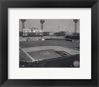 Framed Sportsmans Park - (St. Louis) Sepia