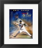 Framed Eric Gagne - 2003 National League Cy Young Award Winner