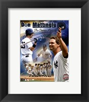 "Framed Don Mattingly - ""The Captain Returns"" Composite"
