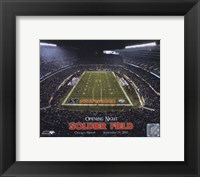 Framed Soldier Field - Opening Night - 9/29/03