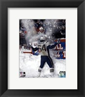 Framed Tedy Bruschi - Snow Game 12/7/03