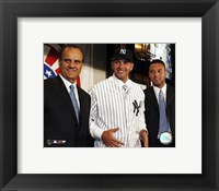 Framed Alex Rodriguez - Signing Press Conference with Joe Torre & Derek Jeter