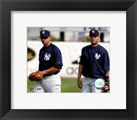 Framed A.Rodriguez and D.Jeter - 2004 Spring Training